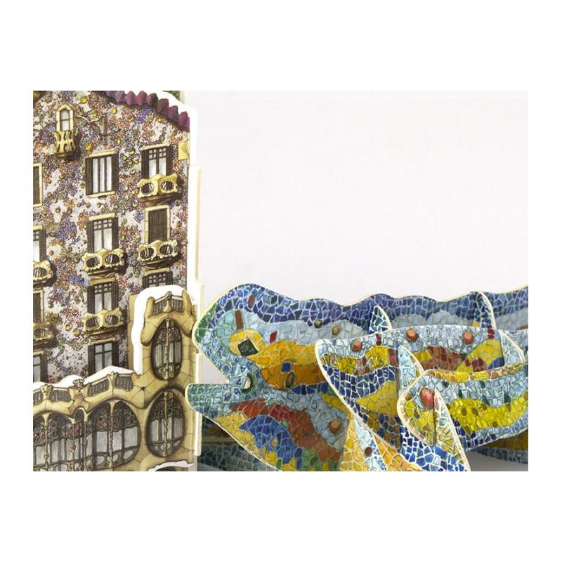 Casa batll drac mini puzzle 3d - La casa del puzzle madrid ...