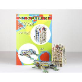Casa Batlló + Drac Mini Puzzle 3D