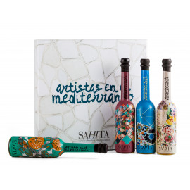 Set extra virgin olive oils Artists Trencadís 100 ml