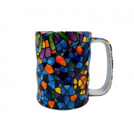 aschebecher 14x4 glas rund