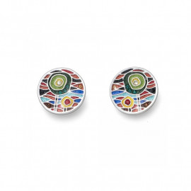 Earrings Gaudi Cross