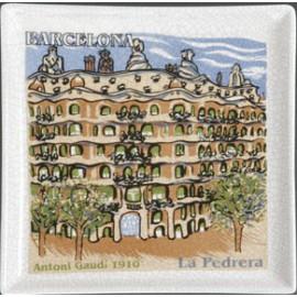 Plateau façade Pedrera