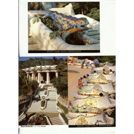 Pack 8 Gaudí Postcards