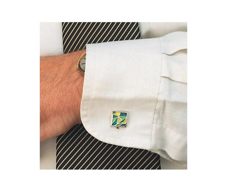 Cuff Links Gaudi Green