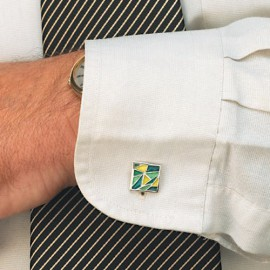 Cuff Links Gaudi Green