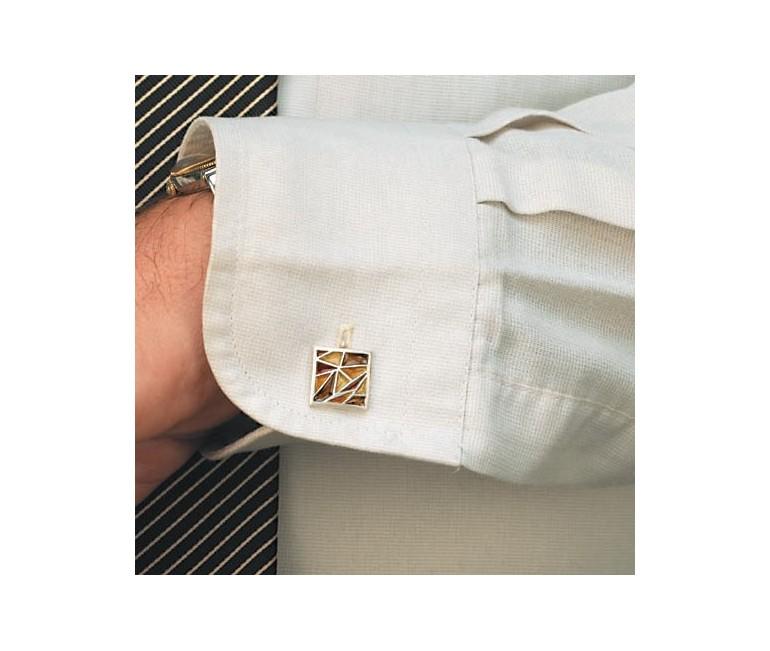 Cuff Links Gaudi Ocher