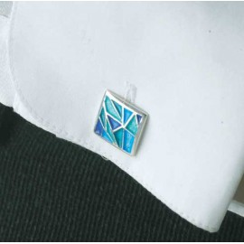 Cuff Links Gaudi Blue 99