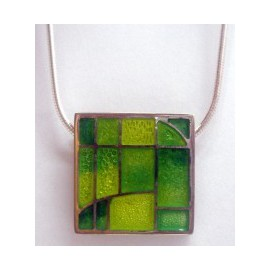 Pendant Green & Yellow