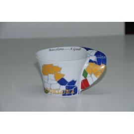 Coffe Oval design cup