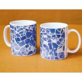 Mug eau de mer bleue