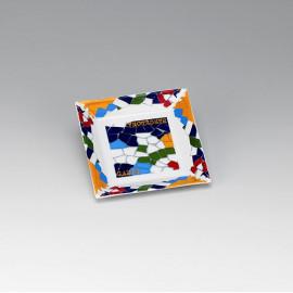 Gaudi-Barcelona Square Plate