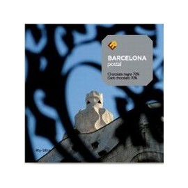 Gaudí Chocolate Postcard La Pedrera