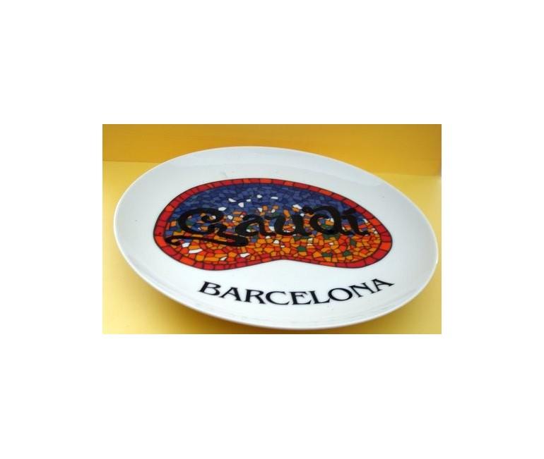 Plato Gaudi Barcelona
