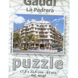 Puzzle Pedrera 63 pieces