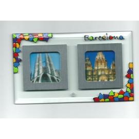 Portafotos de Cristal Trencadís 13 x 18 cm