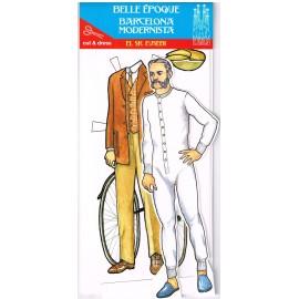 Vestidos Recortables Sr Eusebi Barcelona Modernista