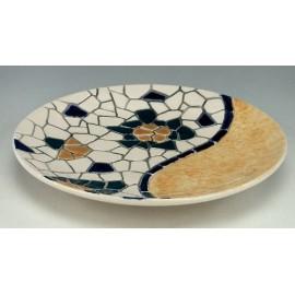 Plat de Ceràmica Trencadís
