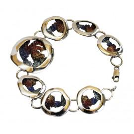 Bracelet émaillé moderne