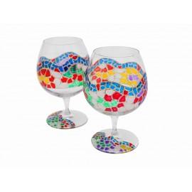 2 verres de Brandy Catalonia