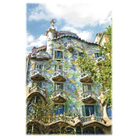 Print Batlló House 2