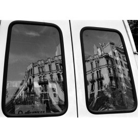 Photo Print Barcelona Street Reflexion