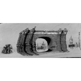 Fotografía Reflejo Arco del Triunfo