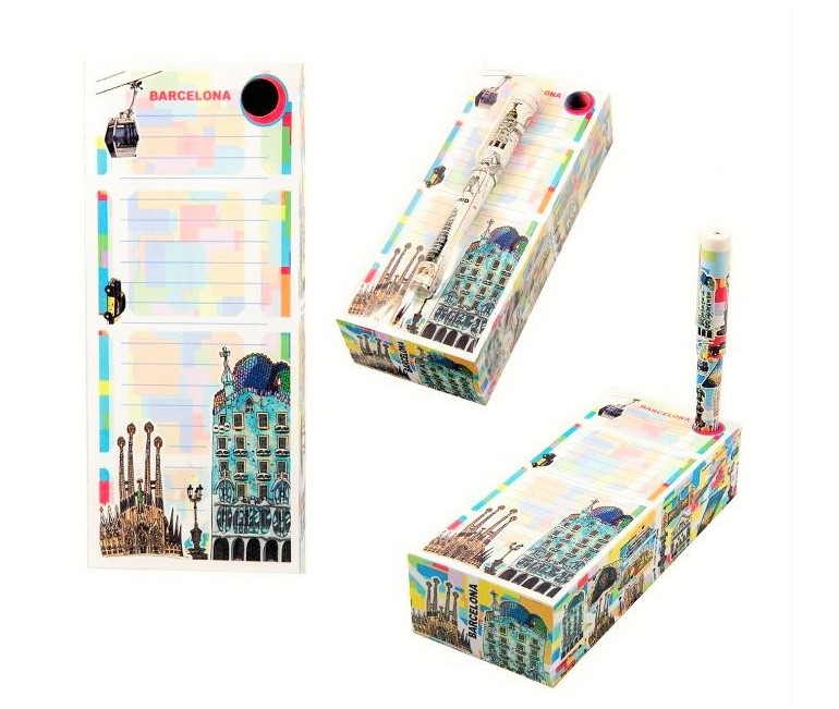 Barcelona Notepad With Pen