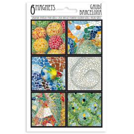 Set 6 Imanes Mosaico