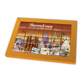 Barcelona Chocolate Puzzle 3D