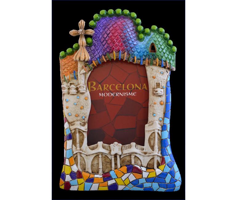 Casa Batlló Ceramic Photo Frame