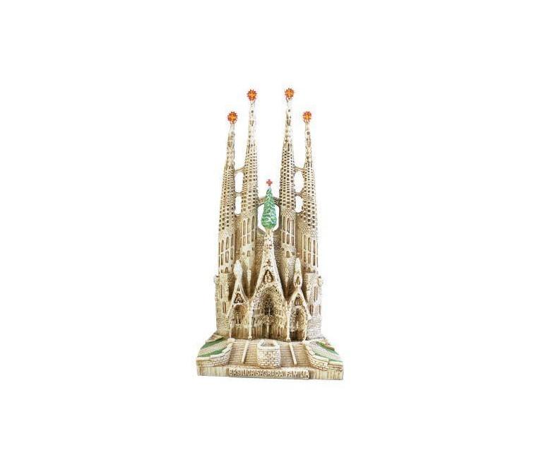 Sagrada Familia grande pintada