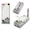 Madrid notepad with pen
