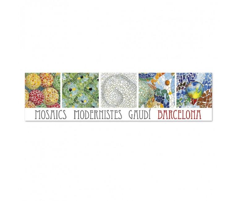 Rectangular Mosaic Bookmarker