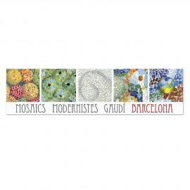 Punto de libro Rectangular Mosaico