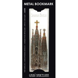 Metal Bookmarker Sagrada Familia
