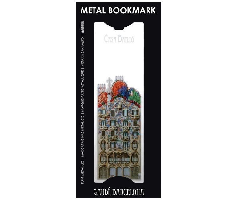 Punto de libro metálico Sagrada Familia