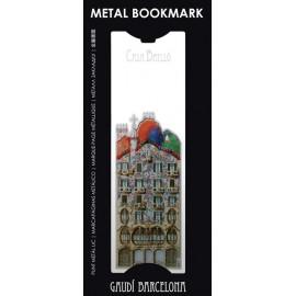Punt de llibre metàl·lic Casa Batlló