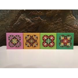 Boîte avec mini chocolats Panot