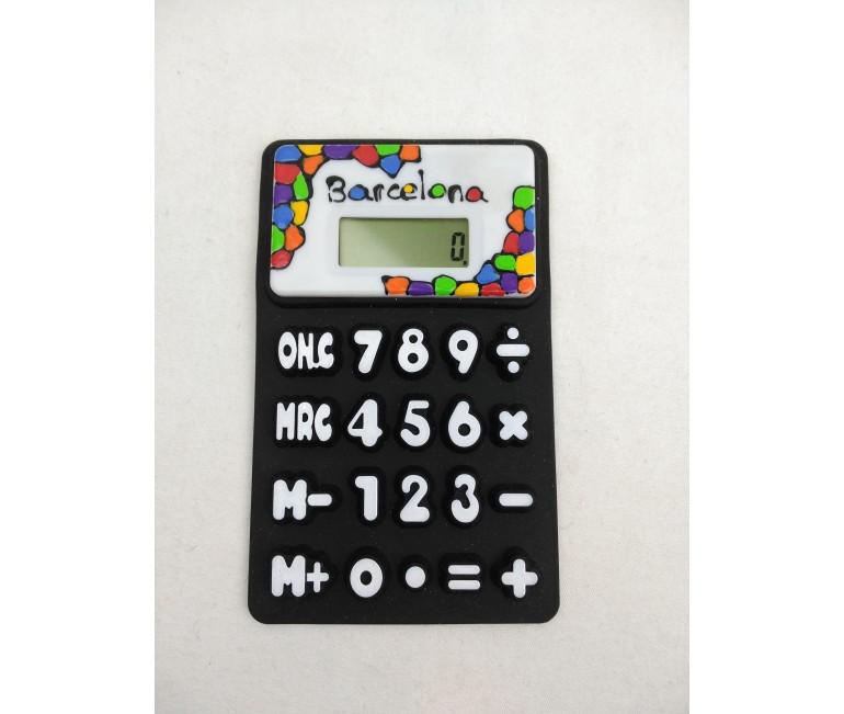Calculadora Flexible Vitrall Negra