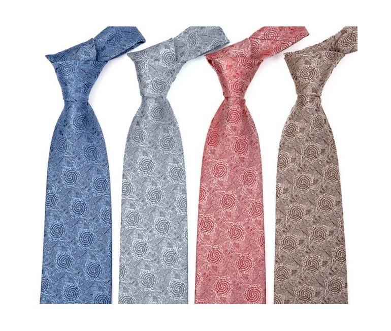 Tile Passeig de Gracia Silk Tie