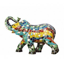 Elefante Trencadis 10 cm.