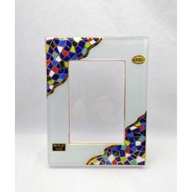 Portafotos de Cristal Trencadis 23x18 cm