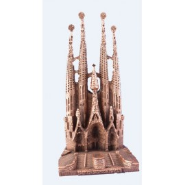 Big Sagrada Familia in bronze