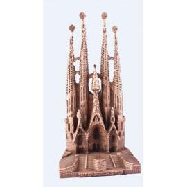Sagrada Familia grande baño de bronce