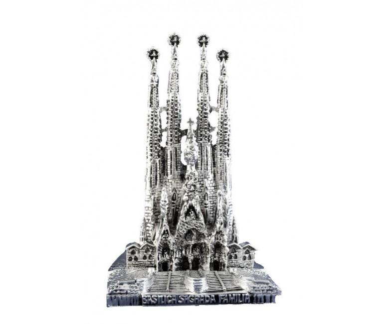 Sagrada Familia in silver