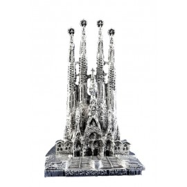 Sagrada Familia in silver