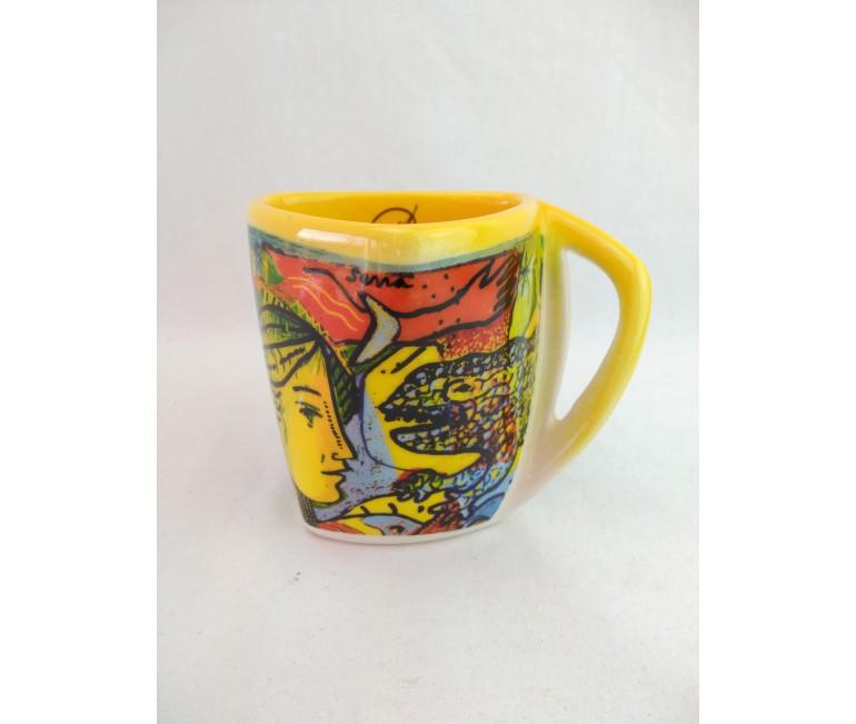 """Tasse en céramique Sagrada Familia """"T"""""""