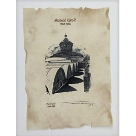 Finca Güell Gate Lithography