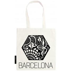 Bolsa baldosa Gaudí hexagonal
