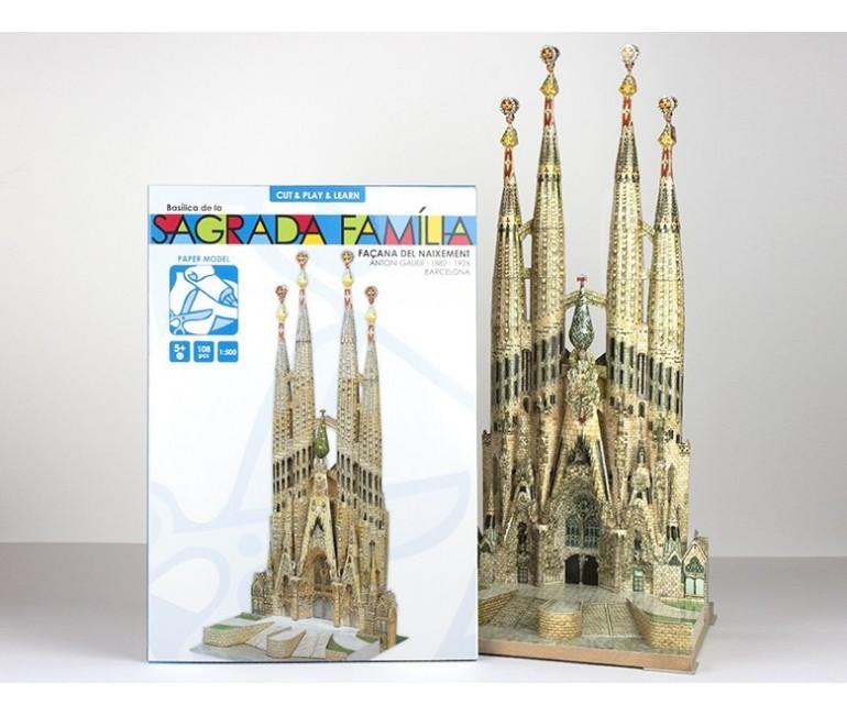 Sagrada Familia Papel Recortable